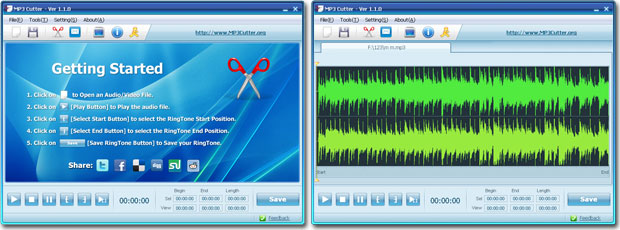mp3 cutter and ringtone
